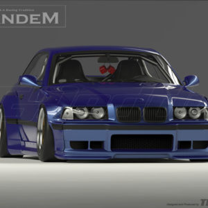 1992-1999 BMW E36 M3 Coupe GReddy Pandem Style Body Kit FRP (10)