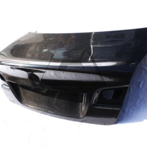 2007-2011 BMW E92 3 Series Coupe CSL Style Rear Trunk Bootlid CF (1)