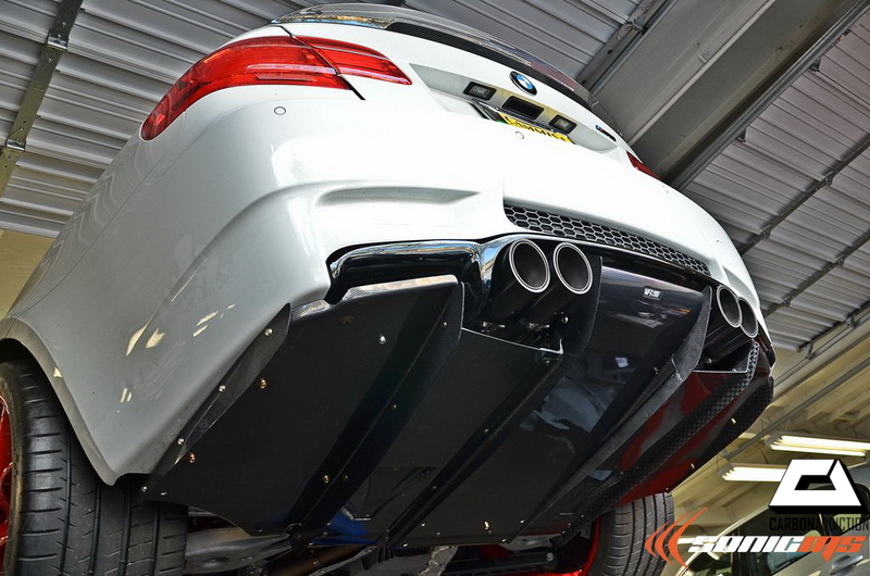 Bmw E92 E93 M3 Varis Style Carbon Undertray Diffuser