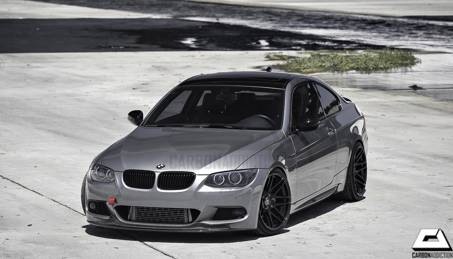 BMW E92 LCI ARKYM Style Carbon Front Lip – Carbon Addiction