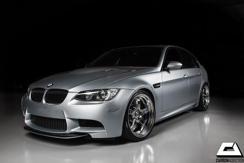 Bmw E90 E92 E93 M3 Crt Style Carbon Front Lip Carbon Addiction
