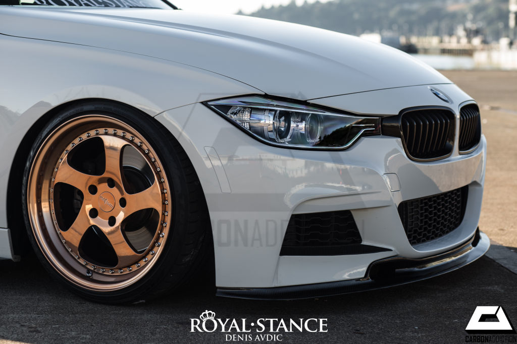 Bmw F30 F31 Varis Style Carbon Front Lip Carbon Addiction