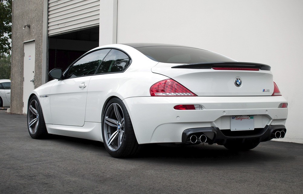 Bmw E63 E64 M6 Vorsteiner Style Carbon Rear Diffuser Carbon Addiction