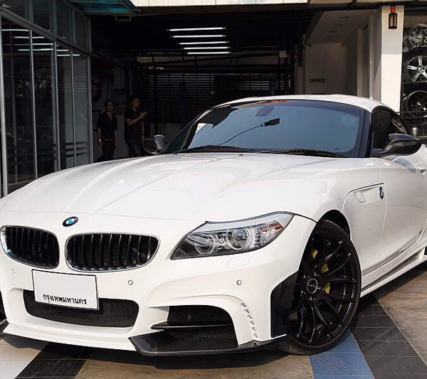 Bmw Z4 Reviews: BMW E89 Z4 Rowen White Wolf Edition Style Front Bumper W