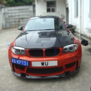 2010-2012 BMW 1M Coupe Revozport Style Front Lip (15)