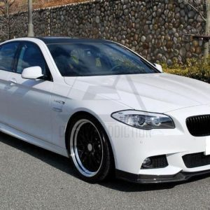 2010-2013 BMW 5 Series F10 F18 Sedan EndCC Style Front Lip CF (1)