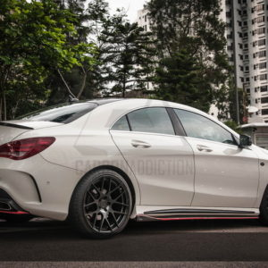 2013-2015 Mercedes Benz W117 C117 Revozport RZA 290 Style Body Kit CF (4)