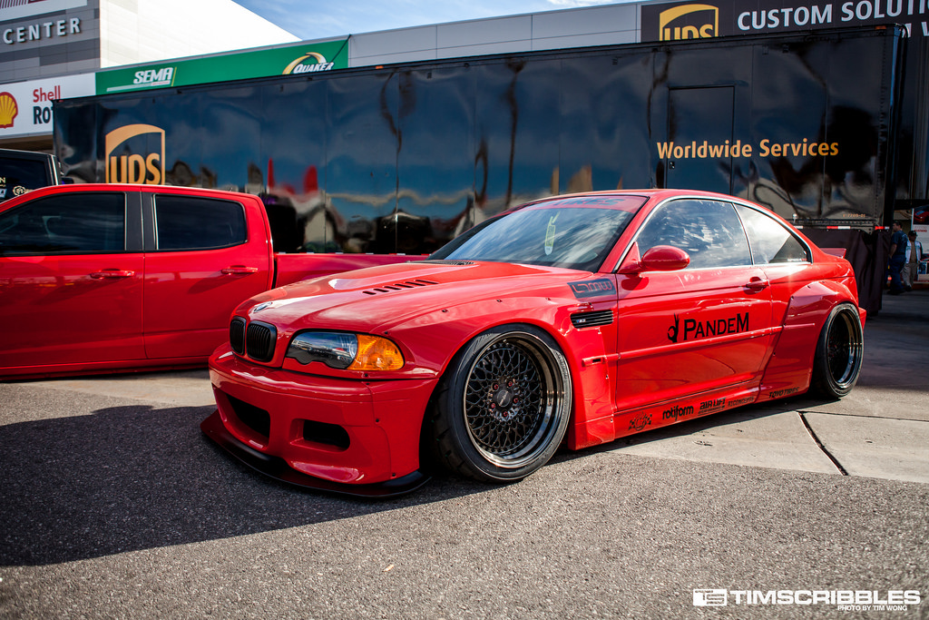 Bmw E46 M3 Pandem Style Widebody Carbon Addiction