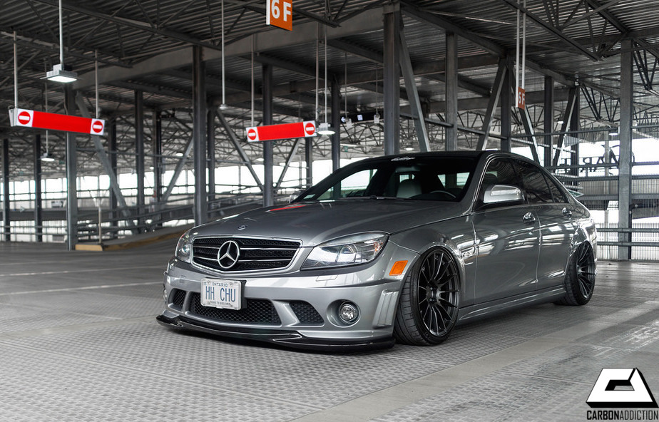 Mercedes Benz W204 Pre Fl C63 Godhand Style Carbon Front