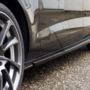 2011-2015 AUDI A7 Sporback ABT Style Side Skirt Extension CF (17)