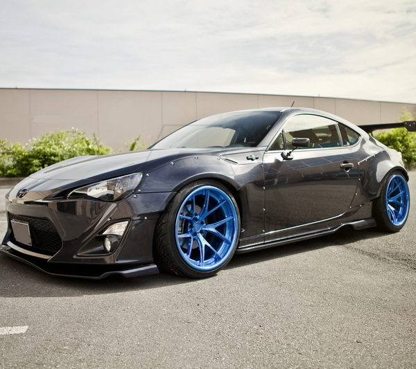 240sx Fairlady >> GT86/FRS/BRZ Rocket Bunny V1 Style Widebody Fender Flares – Carbon Addiction