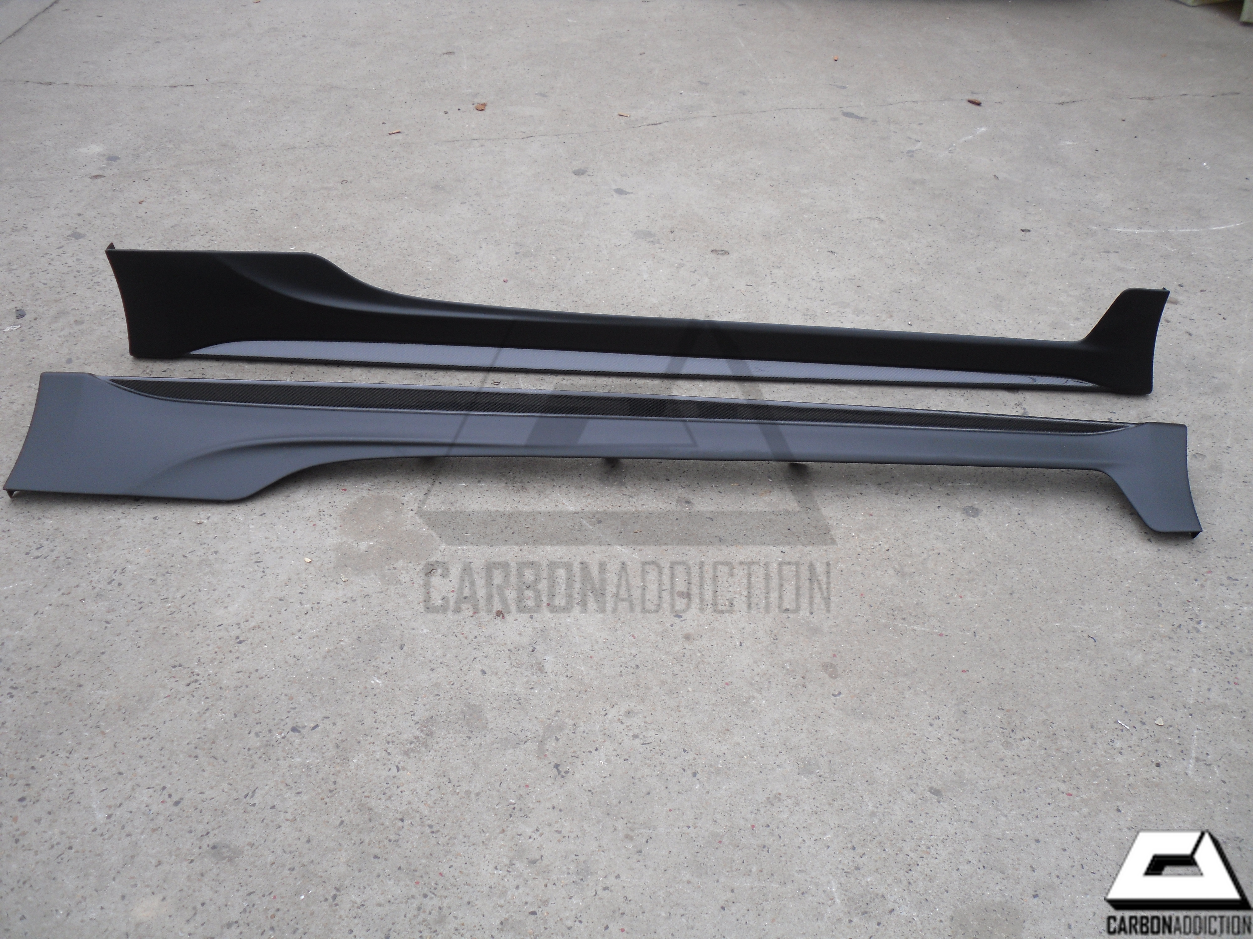 GT86 FRS BRZ TRD Style Carbon Side Skirts – Carbon Addiction