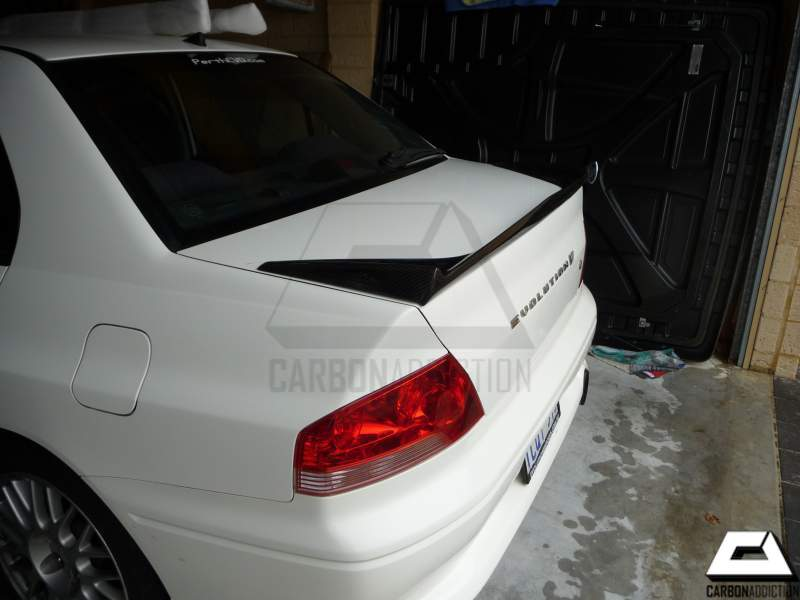 evo wing net for color spoiler toctai a abs unpainted plastic trunk mitsubishi ex lancer u primer rear