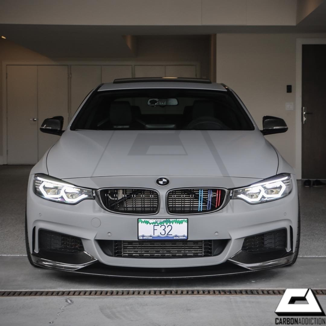 Bmw F32 M Performance Style Carbon Front Lip Carbon Addiction