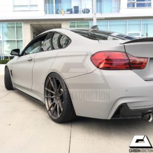 2013-2017 BMW F32 M-Performance Style Carbon Side Skirt Extension (5)