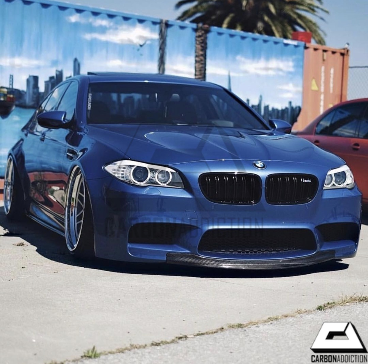 Bmw F10 M5 Rkp Style Carbon Front Lip Carbon Addiction