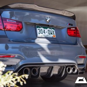 2014-2017 BMW F80 PSM Style Carbon Rear Spoiler (1)