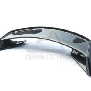 2008-2012 Nissan R35 GTR Mines Style Rear Spoiler with Base CF (2)