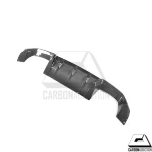2016-2017 BMW F87 M2 M-Performance Style Carbon Rear Diffuser (1)