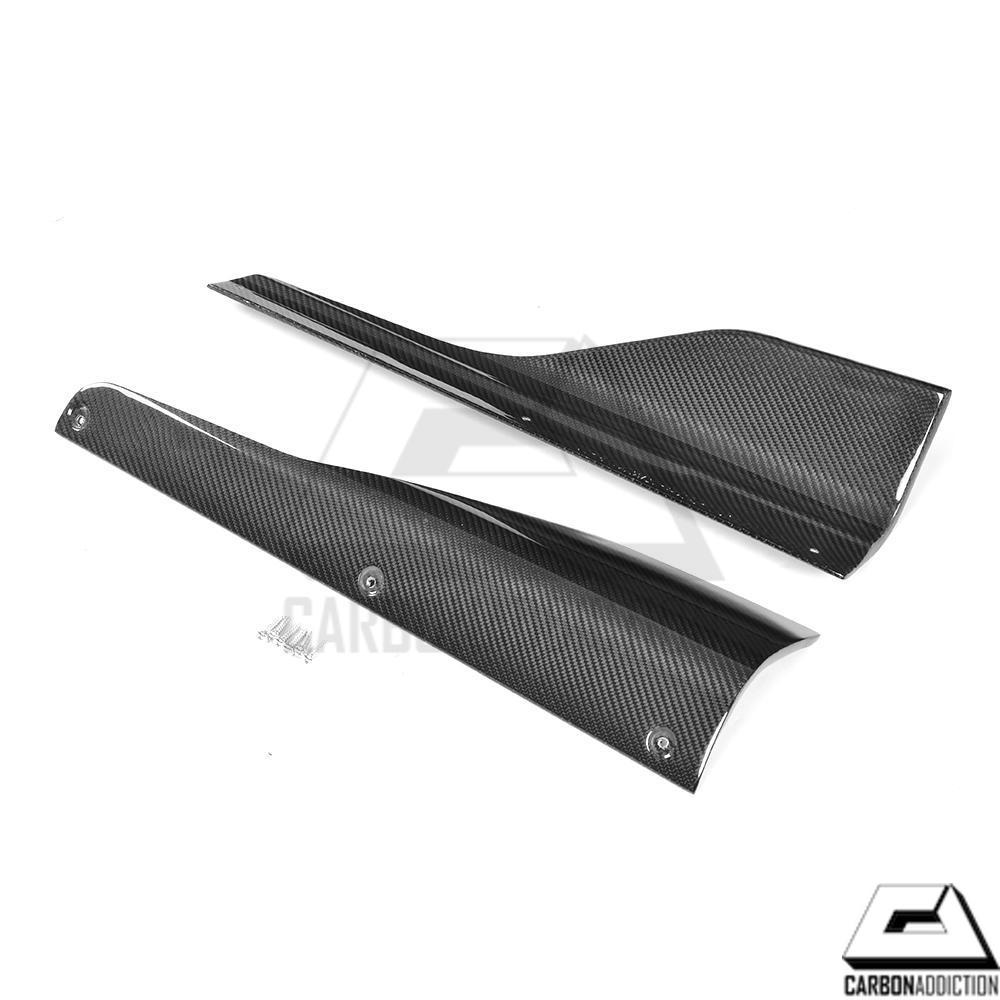 Bmw F87 M2 M Performance Style Carbon Side Skirt