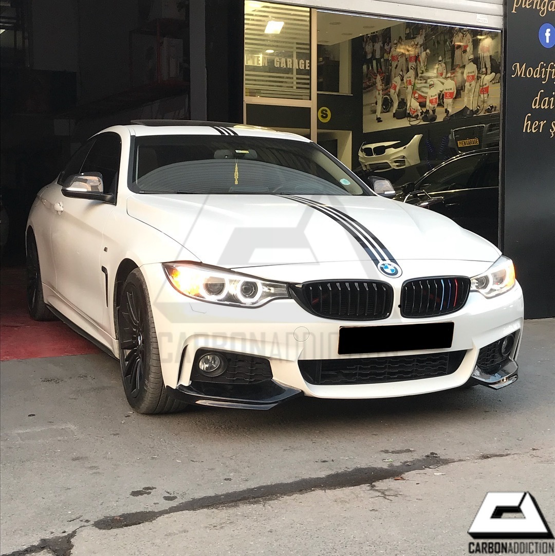 Bmw Z4 Splitter: BMW F32 Carbon Splitters