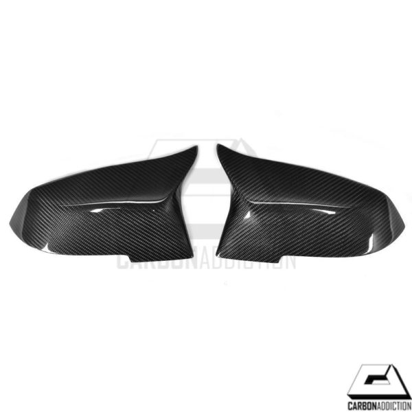 BMW F32 M4 Style Carbon Mirror Cover Replacement (1)