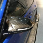 BMW F32 M4 Style Carbon Mirror Cover Replacement (6)