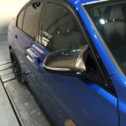 BMW F32 M4 Style Carbon Mirror Cover Replacement (7)
