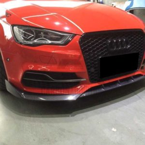 Audi S3 8V Pre-Facelift Type-1 Style Carbon Front Lip CA-20150601 (4)