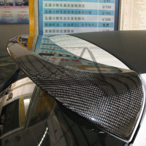VW Golf MK6 ABT Style Carbon Rear Spoiler (1)