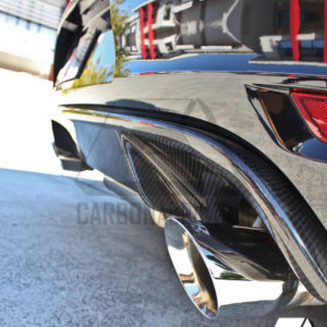 VW Golf MK6 GTI OEM Style Carbon Rear Diffuser (1)
