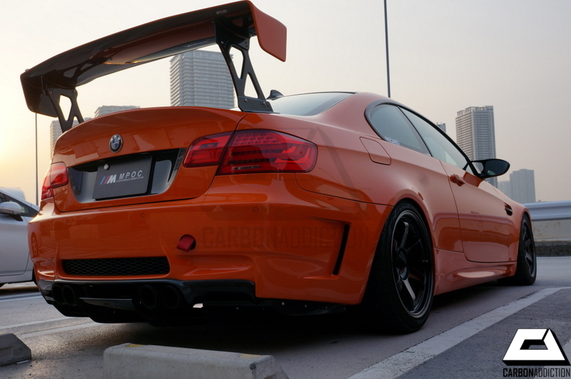 Bmw E92 M3 Varis Style Carbon Gt Wing Carbon Addiction
