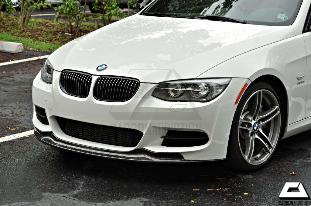 bmw  lci arkym style carbon front lip carbon addiction