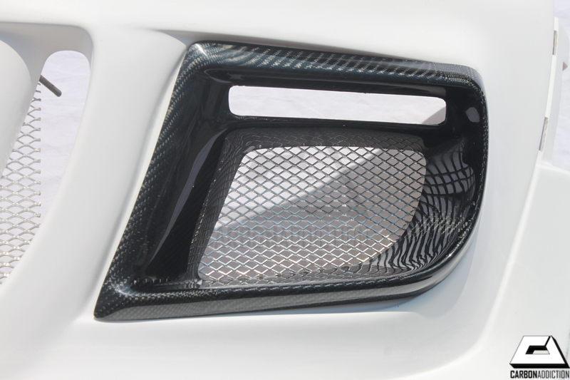 Mini Cooper R56 Duell AG Style Carbon Fog Lamp Covers
