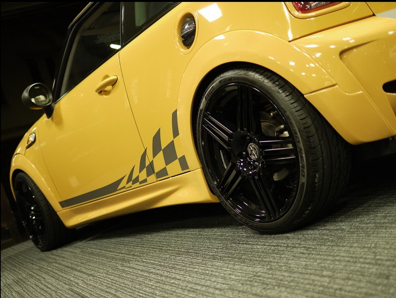 Mini Cooper R56 Duell AG Style Side Skirts