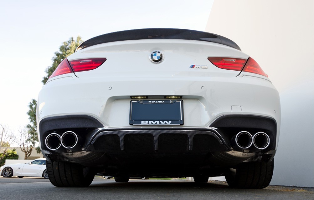 Bmw M6 Carbon: BMW F06/F12/F13 M6 ARKYM Style Carbon Rear Lip W