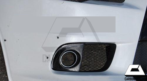 Mitsubishi Evo X Carbon Fog Lamp Covers Carbon Addiction