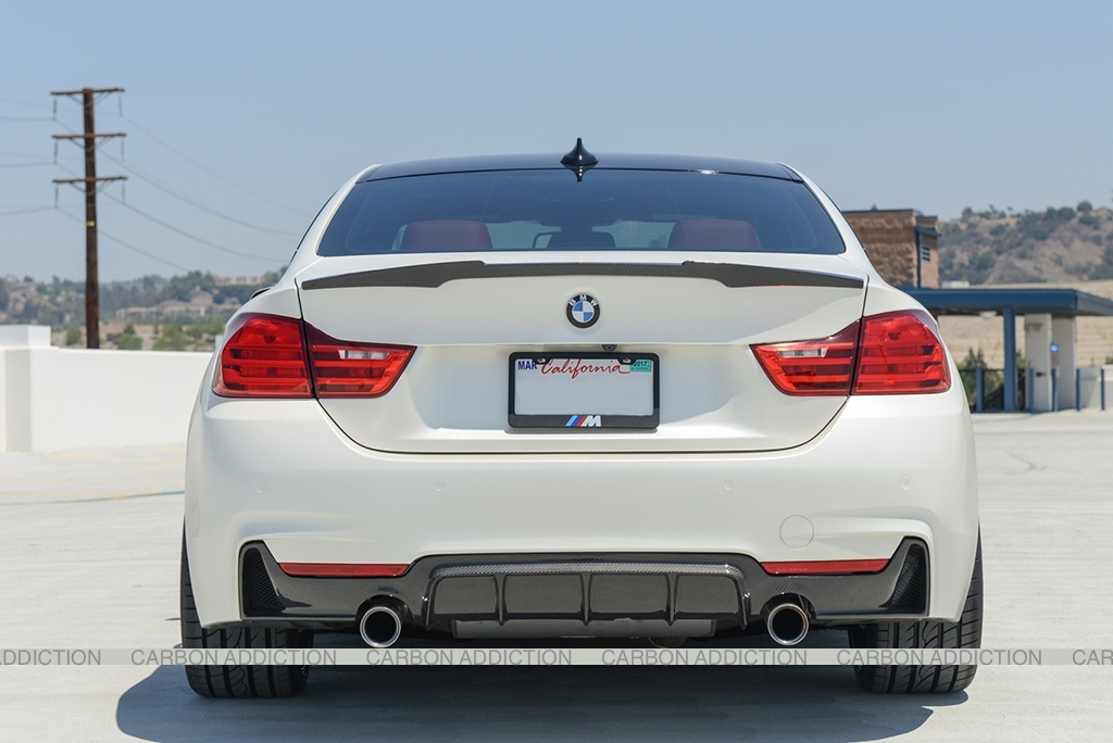 Bmw F32 M4 Style Carbon Rear Spoiler Carbon Addiction