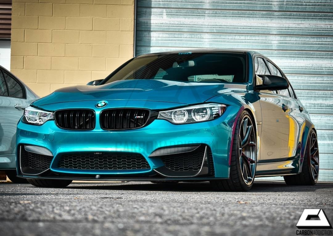 Bmw F8x F80 F82 F83 M3 M4 Carbon Fangs Carbon Addiction