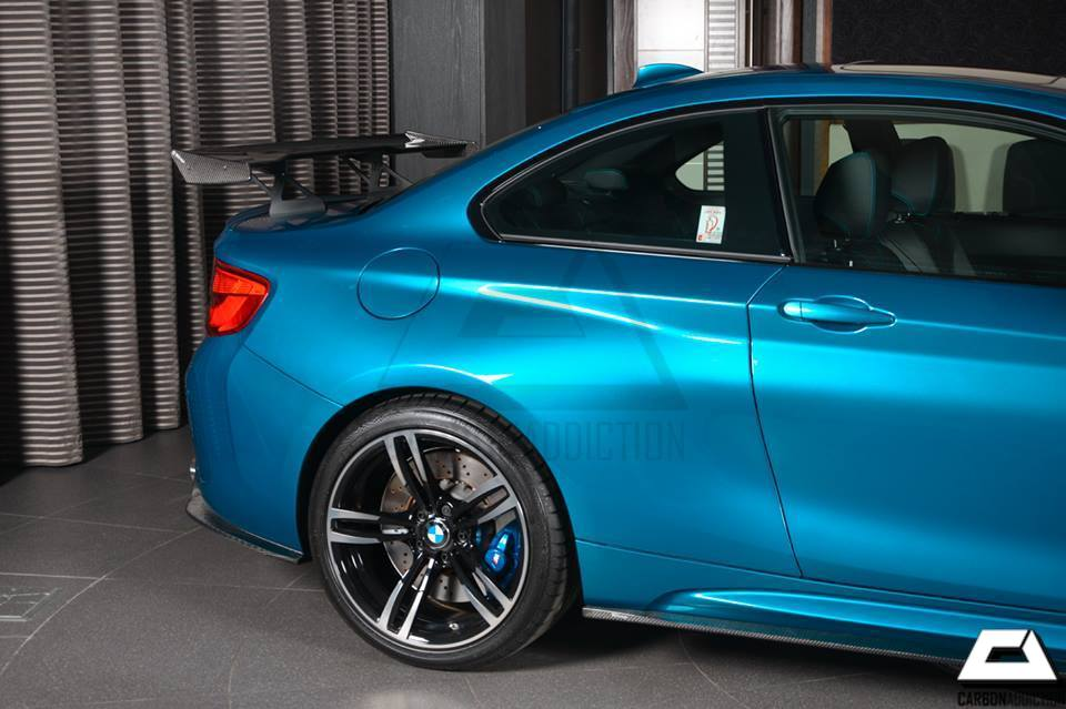 Bmw F87 M2 3d Design Style Carbon Gt Wing Carbon Addiction